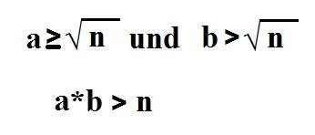 Formel Primzahltest