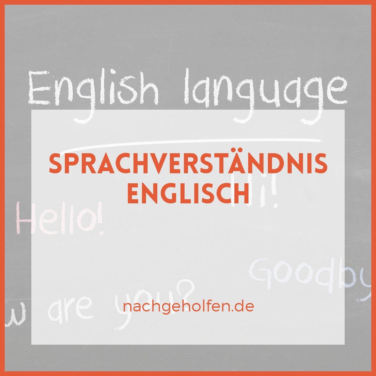 Sprachverständnis Englischdie Besten Tipps Bei Nachgeholfende