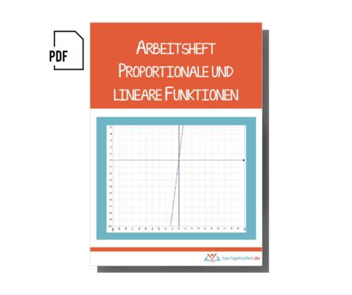 Arbeitsheft proportionale und lineare Funktionen