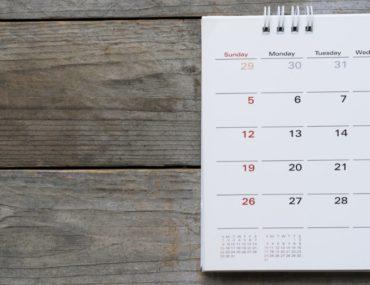 Das Datum in Englischen