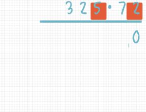 Schriftlich multiplizieren Beispiel 2