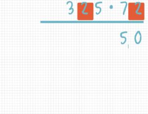 Schriftlich multiplizieren Beispiel 3