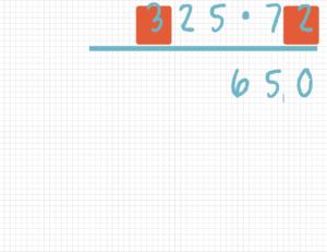 Schriftlich multiplizieren Beispiel 4