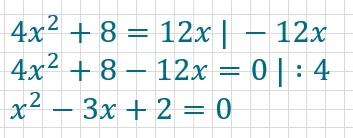 Lösung Beispiel pq-Formel