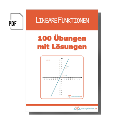 Arbeitsheft lineare Funktionen 1