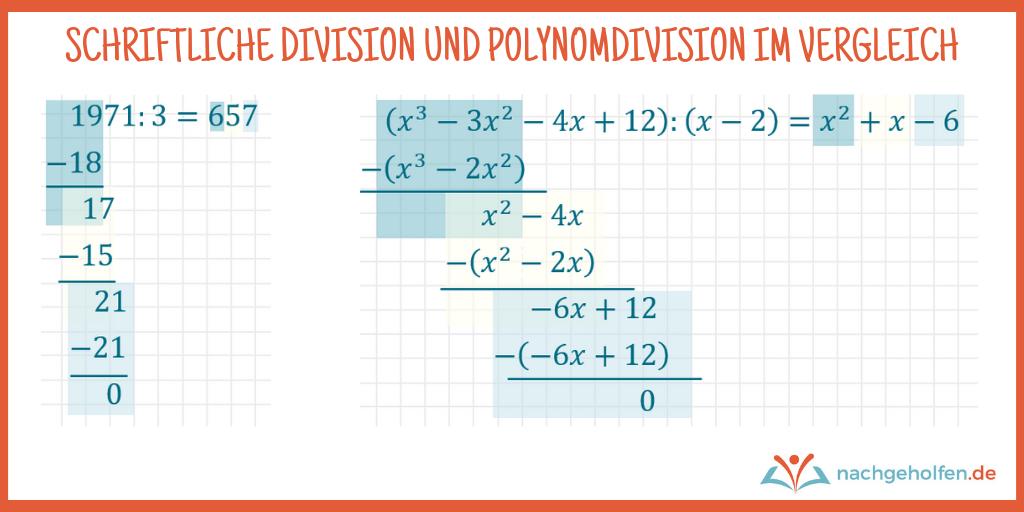 polynome dividieren