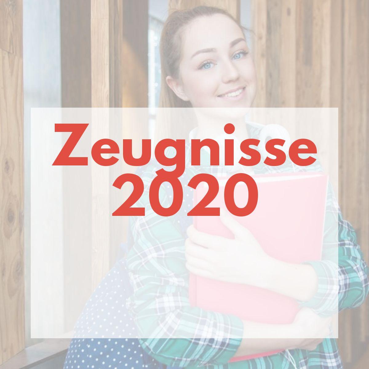 Zeugnisse 2020
