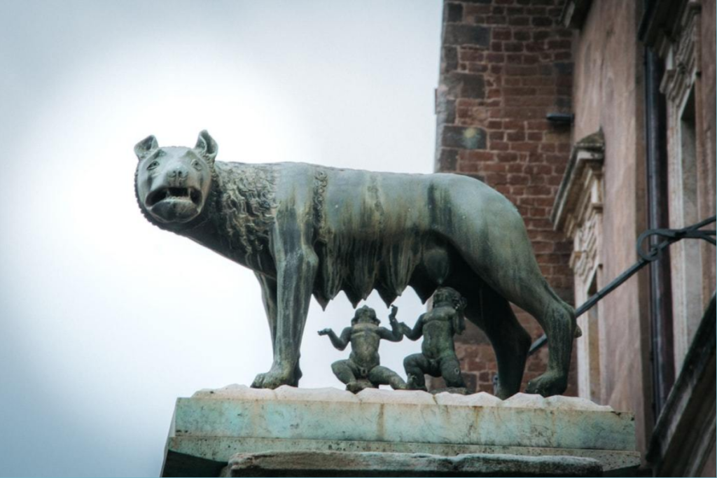 Romulus und Remus Gründung Roms